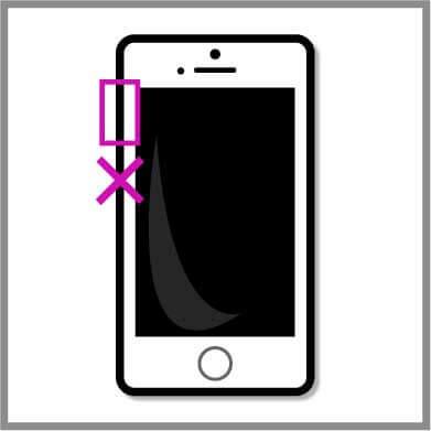 iPhoneボリュームボタン修理