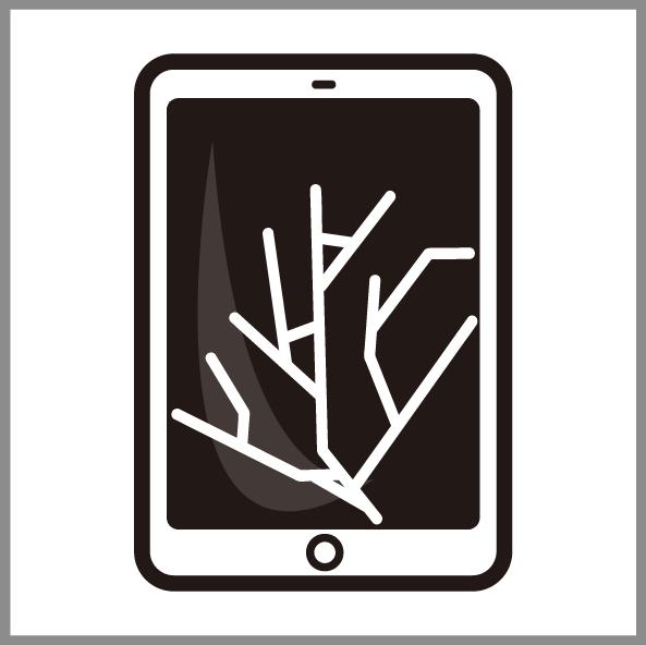 iPadガラス交換修理 岡山
