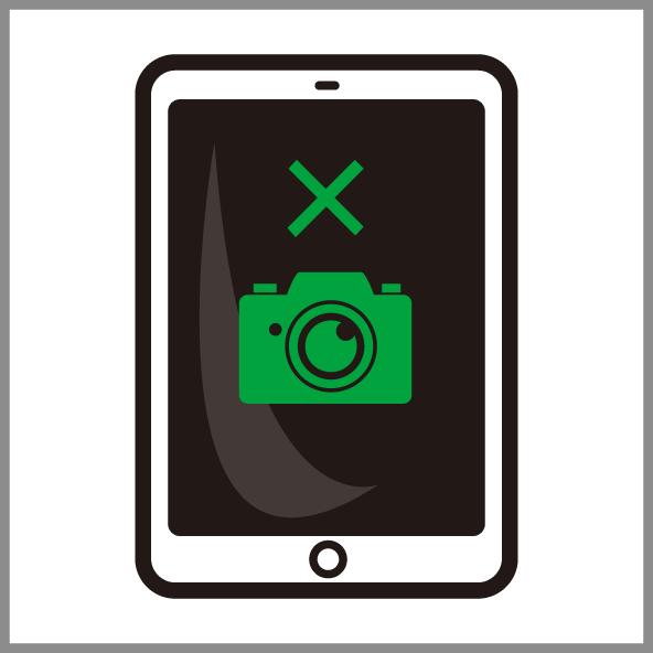 iPadイン(フロント)カメラ修理