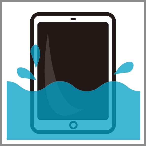 iPad水没復旧修理